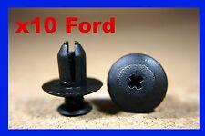 10 Ford Rad Bogen Futter Spritz Kotflügel Plastik Befestigung Stoß Schraube