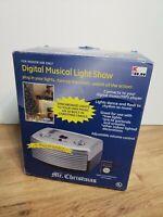 Mr Christmas Digital Musical Light Show Indoor Display Set - Never Used