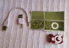 Apple iPod Shuffle 2nd Gen 1GB Bundle Silver Audio MP3 Player A1204 EMC 2125