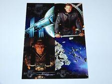 TRADING CARDS BABYLON 5 PROMO SHEET UNCUT 1995 FLEER ULTRA