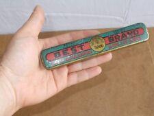 RARE boite rasoir coupe choux straight razor CARL SCHLIEPER SOLINGEN eye - 1900
