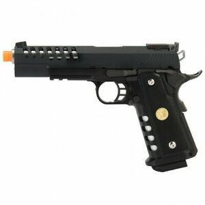 "WE TECH Full Metal Hyper Speed ""Skeletor"" 5.1 Hi-CAPA GBB Airsoft Pistol WE-H015"