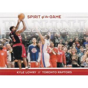 KYLE LOWRY 2012-13 PANINI SPIRIT OF THE GAME