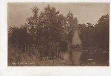 At Wroxham Norfolk England Vintage Postcard Us051