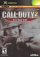 Call of Duty 2: Big Red One Collector's Edition Microsoft Xbox Game CIB Tested