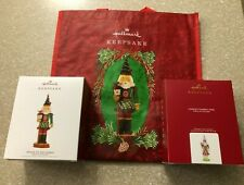 HALLMARK 2019 NOBLE NUTCRACKER PRINCE OF THE FOREST AND 2020 CONFECTIONERY SET