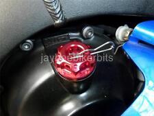 Bouchon de remplissage d'huile CNC rouge Kawasaki Versys 1000 650 GPX250 KR1 kr1s250 nouveau r2b5