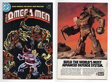 OMEGA MEN (1983) #22 BRANX APPEARANCE BROOT DOC NIMBUS PRIMUS TIGORR SHLAGEN DC