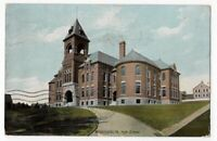 53019 HIGH SCHOOL WASHINGTON PA VINTAGE POSTCARD 1908