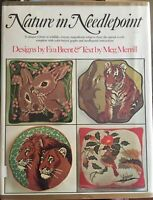 Nature in Needlepoint Eva Brent Patterns HC 1975