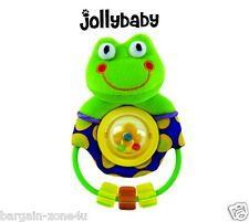 Baby Frog Discovery Spinning Rattle toys activity Nursery Pram Cot Crib Bedding