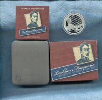 2010 Lachlan Macquarie Governor of NSW 1810-1821 $1 SILVER PROOF COIN