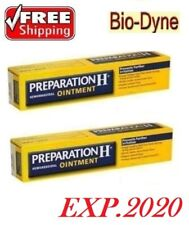 2 x PREPARATION H CANADIAN TYPE - Puffy Eyes,Hemorroids [Bio-Dyne-Shark Oil]25gr