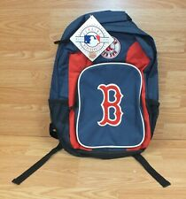 Boston Red Sox Collectible Red & Blue Collectible Backpack **READ**