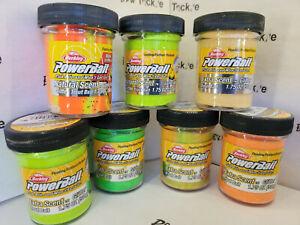 Berkley PowerBait Glitter Trout Bait Extra Scent 1.75 oz~Choose Color~FREE Ship