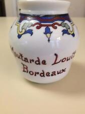 Vintage French Mustard Jar Moutarde Loiut Bordeaux French Kitchen