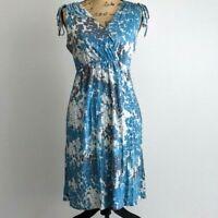 Banana Republic Dress Women Size Small Cinched Waist Lightweight Stretch Comfort