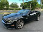 2013 Ford Mustang Convertible GT Premium GT 5.0 Convertible 6-Spd Manual Low Miles Brembo Premium Package Leather Mach CD