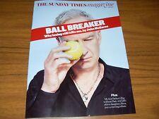 Sunday Times.JOHN McENROE  Interview. AA GILL.BLOOMBERG 18.6.17 UK celebrity mag