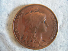 """FRANCE Republique Francaise 1913 Bronze 10C Centimes """"GREAT CIRCULATED COIN"""""""