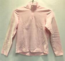 Hot Chillys Youth Pepper Fleece Base Layer Top Light Pink Kids Medium NEW