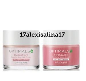 Oriflame Optimals Hydra Calm Day + Night Cream for Dry and Sensitive Skin
