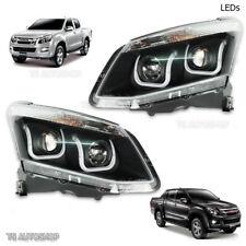 Pair Led Projector Head Lamp Light Fits Isuzu Dmax D-Max Holden Rodeo 2012 2015