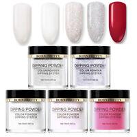 5Bottles/Set 10ml BORN PRETTY Dip Dipping Powder Glitter Starter Kits Nail Art
