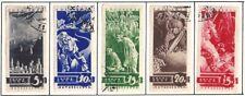 USSR 1935 MiNr: 494 - 498 USED