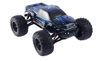 2.4Ghz 1/12 Scale 35+MPH RC Car 2WD High Speed Remote Controlled Buggy Bule S036