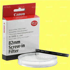 Genuine Canon 82mm Protect Screw-In Lens Protector Clear Filter