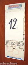 Scontrino biglietto matrice di giocata super ENALOTTO 8 numeri 28 combinazioni