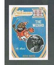 OZZIE SMITH #N17 CARDINALS The Wizard Nicknames 2013 panini Hometown Heroes