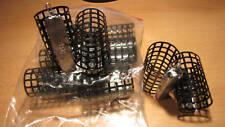 10 Stück Futterkorb mit Wirbel - Metall 80g Handarbeit