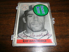Ray Dandridge---Front Row Baseball---Autographed---Sealed---#369/5000---COA