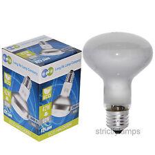 2 x R80 Halogène Réflecteur 42 W = 60 W économie d'énergie Spot Ampoule ES E27 Vis