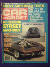 CAR CRAFT - BLOWN 350 CHEVY - Aug 1977 vol 25 # 8
