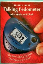 Talking Exercise walking Pedometer still in box with music & clock  Fast Ship 🏃