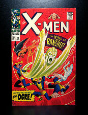 COMICS: Marvel: X-men #28 (1967, Vol 1), 1st Banshee/Ogre/Factor Three app -RARE