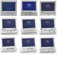 Photo Frame 62 Variations Mum Dad Uncle Auntie Son Girl Grandad Nan Birthdays UK