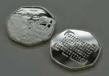 JRR TOLKIEN & MIDDLE EARTH Fine Silver Commemorative. Rune Translator, Dragons
