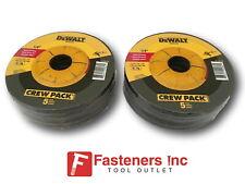 """10 Pieces Dewalt 4-1/2"""" x 1/4"""" x 7/8"""" Metal Grinding Wheels DW4541 Free Shipping"""