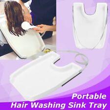 Hair Medical Rinse Washing Tray Shampoo Salon Bowl Beauty Portable Sink Neck