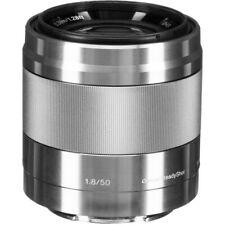 Sony 50mm f/1.8 Silver OSS Lente E SEL50F18