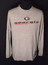 Georgia Bulldogs UGA NCAA College Team Starter Mens Medium M Long Sleeve T-shirt