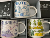 Starbucks Been There Star Wars Disney Mugs Dagobah Hoth Bespin In Hand Fast Ship