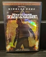 Disneys National Treasure (Full Screen Edition) - DVD Nicolas Cage