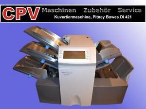 Kuvertiermaschine Pitney Bowes DI 421/ 400 (bis 3.500 Takte/h)