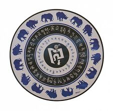 Feng Shui Blue Rhino Elephant Anti Burglary Violence Window Sticker