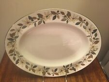 "Wedgwood Beaconsfield Oval Platter 15 1/4"" Larger Size"
